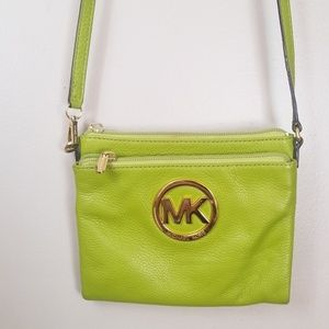 Michael kors leather crossbody small